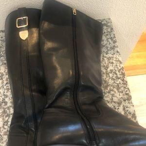 Coach Shoes - Women's Coach Eason Wide Calf Dress  Riding Boots